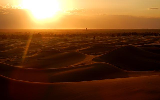 voyage moto au maroc desert