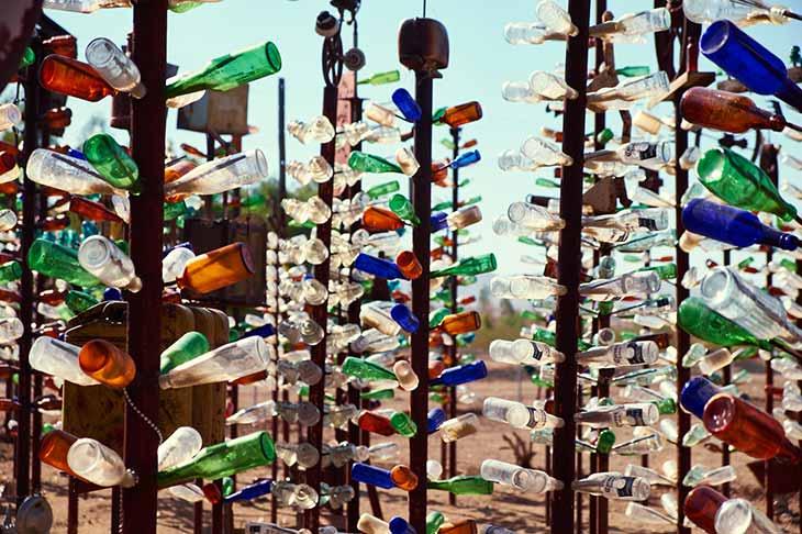 Voyage aux Etats-Unis rotue 66 bottle ranch Planet Ride