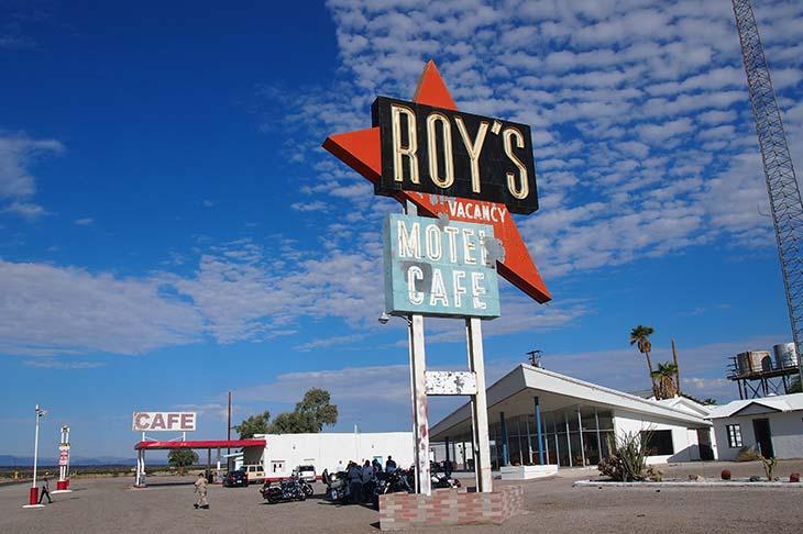 Voyage aux Etats-Unis roy's café Planet Ride