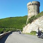 voyage moto corse sur la route corse planet ride