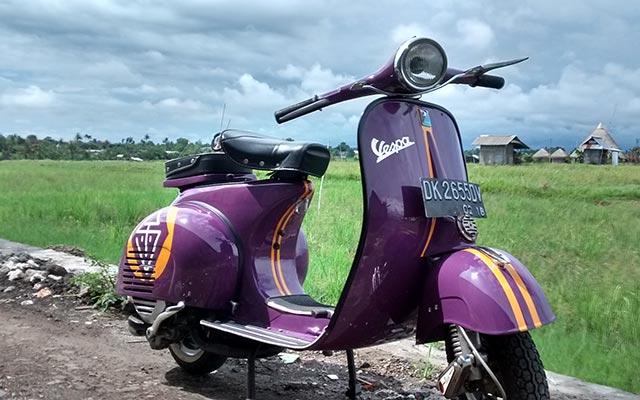 voyage en scooter à Bali Planet ride votre véhicule de voyage