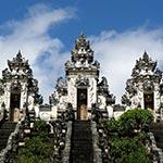 voyage en scooter temple pura lempuyang Bali indonésie
