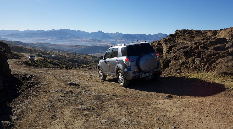voyage en 4×4 en Afrique du Sud, Sani Pass   avec Planet Ride