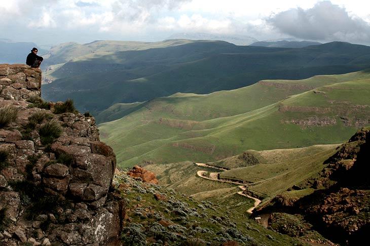 voyage en 4x4 en Afrique du Sud, Sani Pass avec Planet Ride
