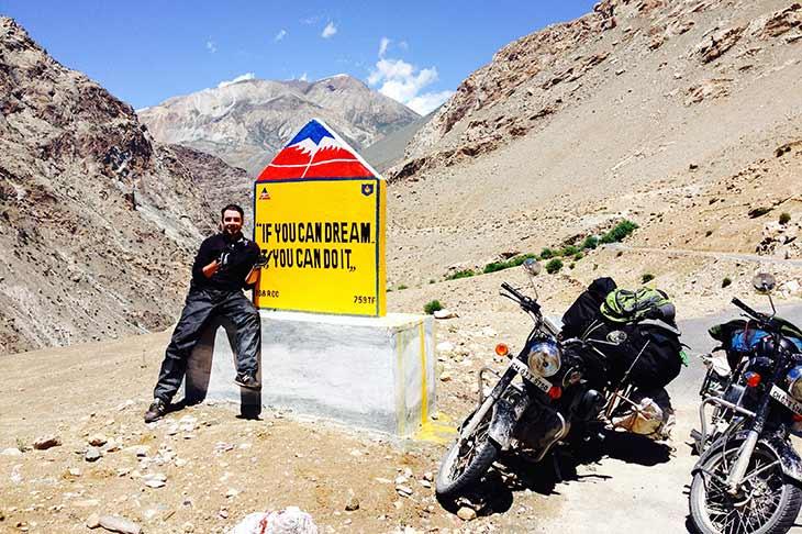 voyage à moto en Inde en Royal Enfield Planet Ride