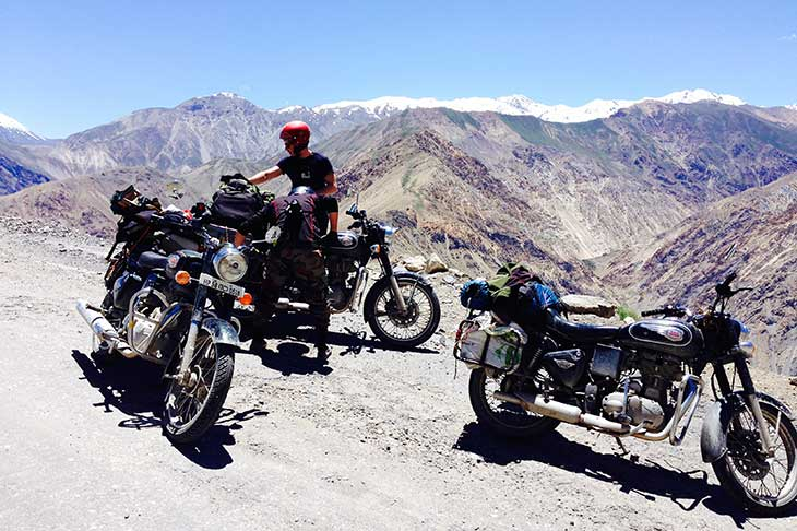 Motorcycle Trip to India in Royal Enfield Planet Ride