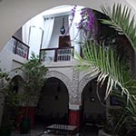 circuit moto maroc à Marrakech riad avec planet ride
