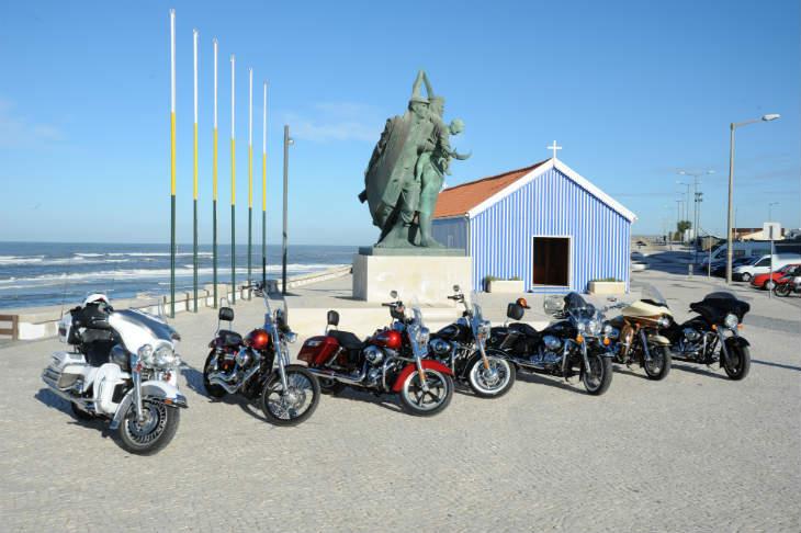 Les motos les plus emblématiques lors de votre voyage en Harley au Portugal avec Jean-François, Partenaire Spécialiste Planet Ride