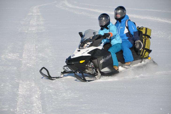 Raid motoneige Laponie BRP 600 Planet Ride