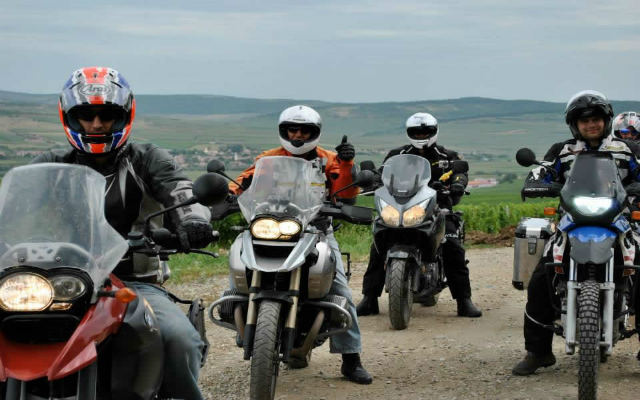 RoadTrip en Roumanie à moto