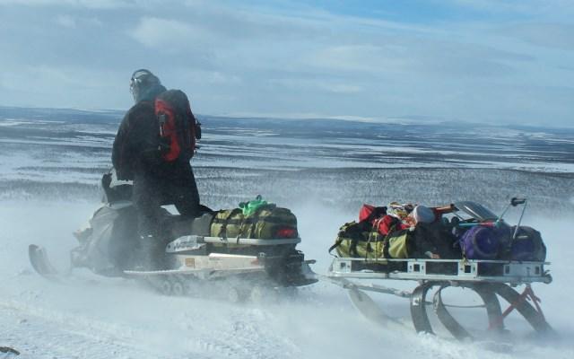Voyage Motoneige en Laponie Finlande