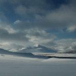 motoneige en Laponie à l'espace Cap Nord