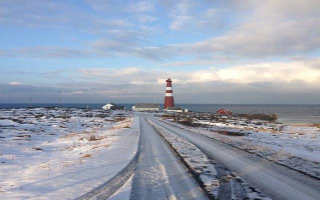 Voyage motoneige Laponie Phare péninsule de Nordkyn avec Planet Ride