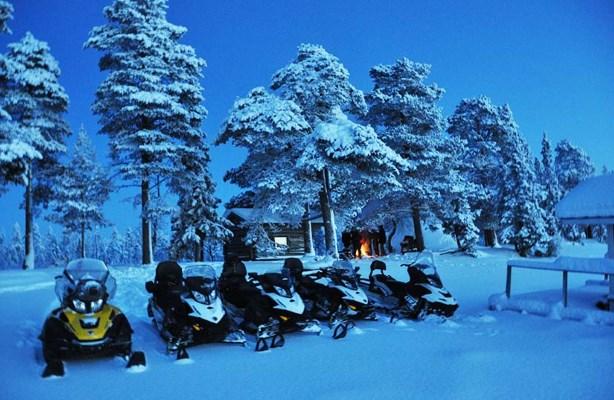 Raid Motoneige en Laponie depuis la Norvège
