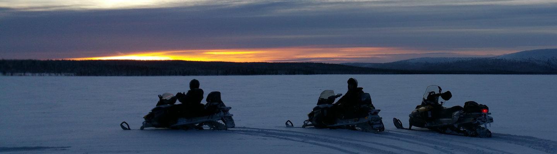 raid motoneige laponie Terres Arctiques Planet Ride