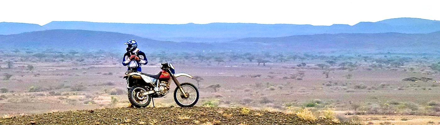 Votre voyage a moto enduro avec fred au Kenya Planet Ride