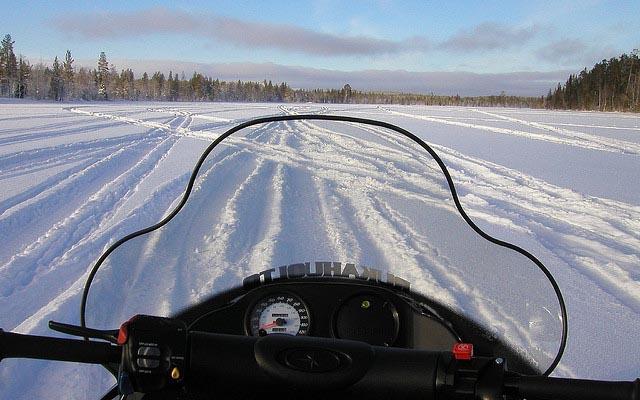 Alexandra - Canada - motoneige, véhicule mythique
