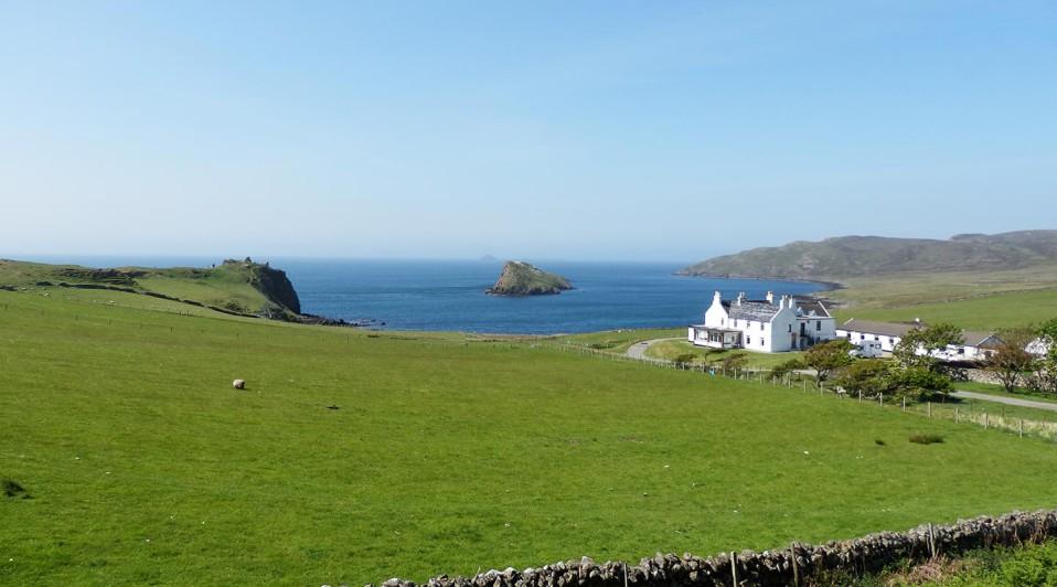 Ile de Skye Écosse en camping-car