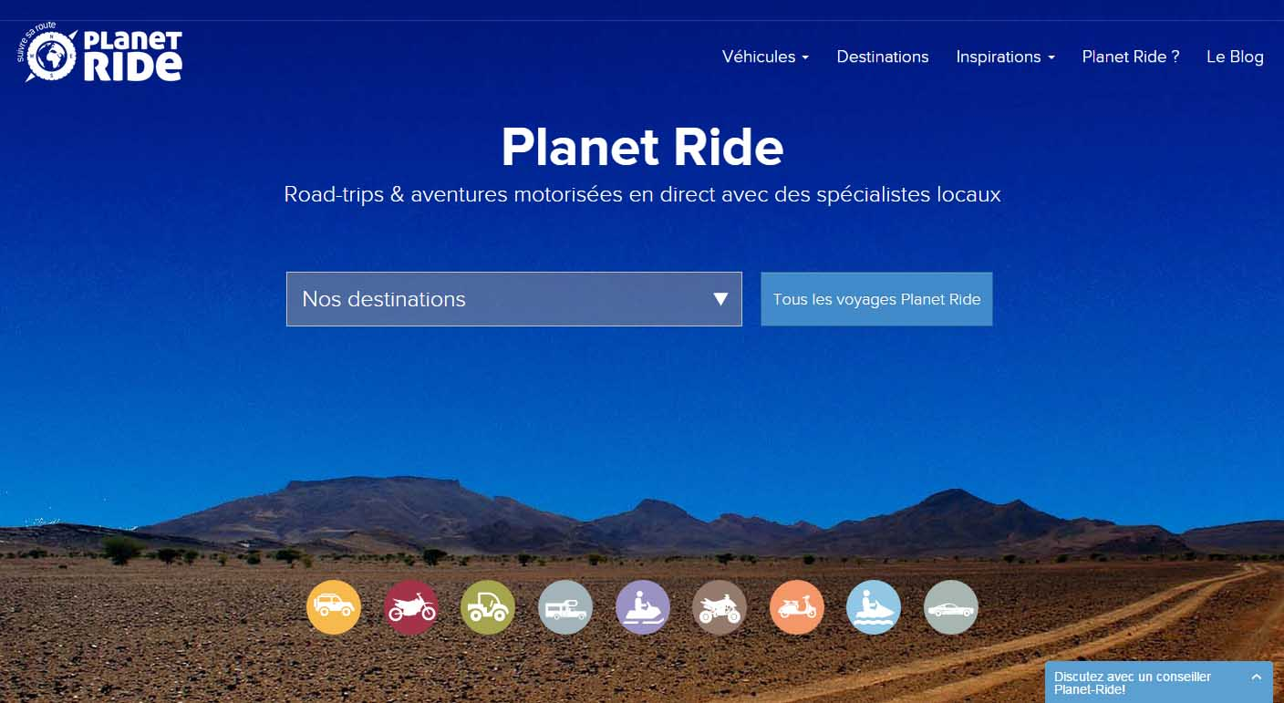 Planet Ride sur BFM Business