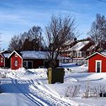 raid motoneige laponie Hetta Finlande
