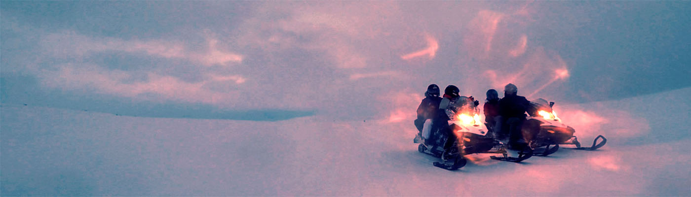 Raid motoneige nocturne – 6 jours – en route pour l'arctique