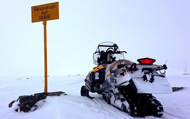 Raid motoneige Laponie Finlande - en route pour l' arctique