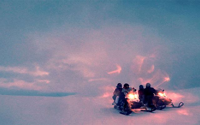 Raid motoneige Laponie - 4 jours - en route vers l' arctique