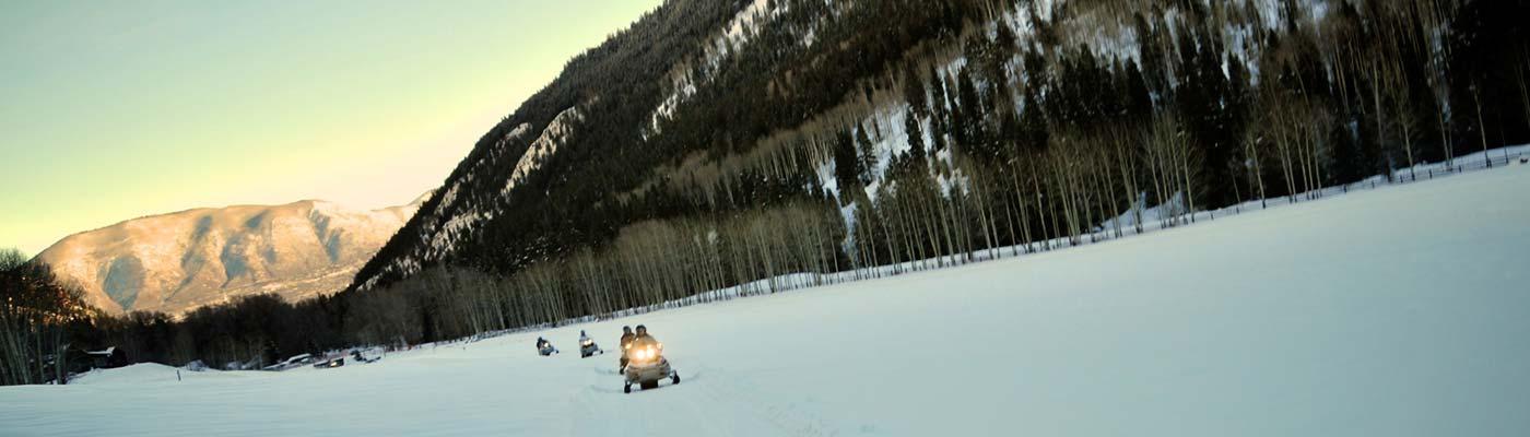 voyage en motoneige au canada avec Planet ride