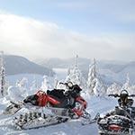 Raid motoneige Canada avec Planet Ride