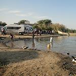 circuit mauritanie en camping car fleuve du sénégal