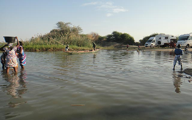 voyage mauritanie camping car fleuve du sénégal