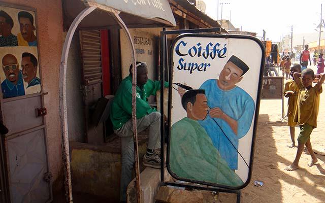 voyage en mauritanie en camping car coiffeur