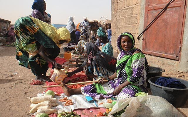 séjour mauritanie en camping car jours de marché