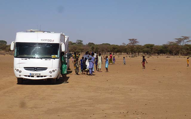 mauritanie aventure en camping car desert
