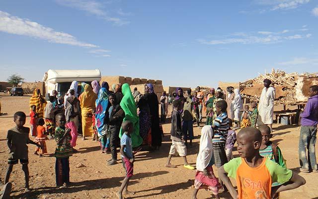 mauritanie aventure en camping car village