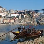 Porto lors de voyage au portugal en Harley avec Planet Ride