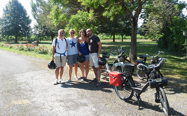 Voyage en Solex en France dans le Sud Ouest