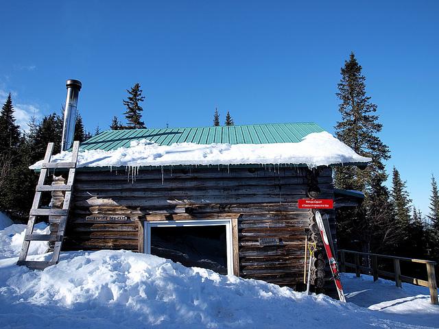 Sentiers des Caps dans Charlevoix - Voyage motoneige Canada