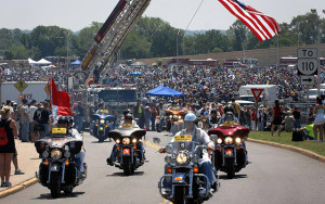 Voyage moto événements moto USA Rolling Thunder Mai 2016