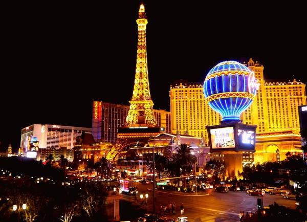Las Vegas, la ville du peche - voyage moto aux USA dans l'ouest
