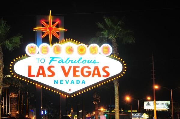 Las Vegas lors d'un voyage moto aux USA, sur la Côte Ouest