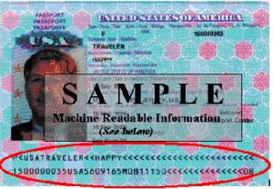 Passeport à Lecture optique