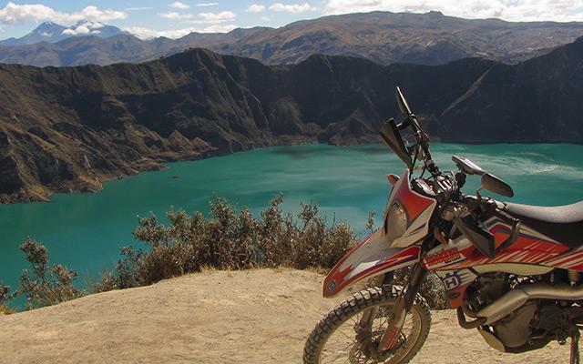 Voyage en Équateur à moto avec une agence de voyage locale