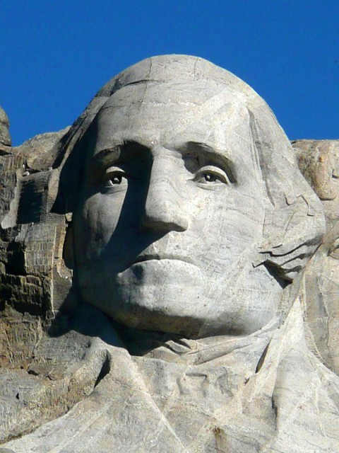 roadtrip USA : Mont Rushmore - George Washington