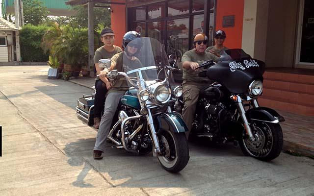 Voyage a moto en Thailande avec Bruno Planet Ride