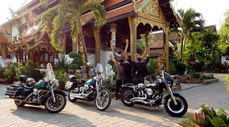 voyage moto thailande harley avec planet ride