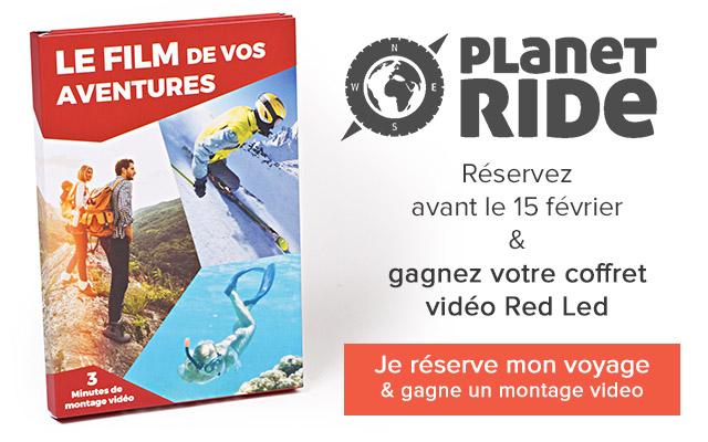 Offre Montage Vidéo avec Planet Ride