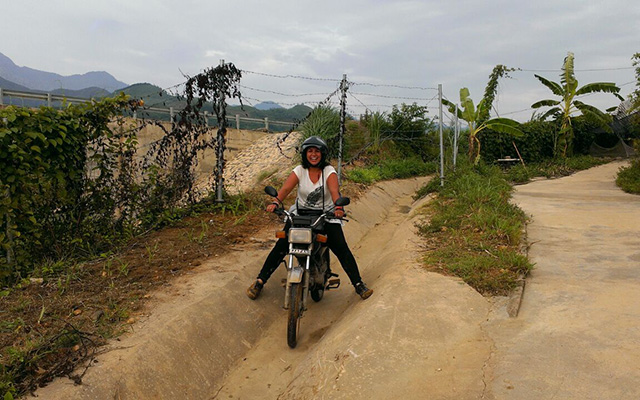 Planet Ride interview Cynthia Travel Motorcycle Vietnam