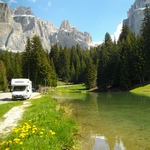voyage en camping car en italie