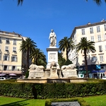 itineraire camping car france ajaccio monument
